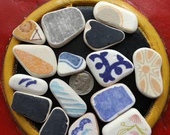 Italian beach pottery