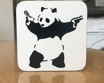 Banksy Coaster #23 - Banksy Gift - Banksy Coaster - Custom Coaster -Gift for Her - Gift For Him - Fridge Magnets - Banksy Magnet - Souvenir