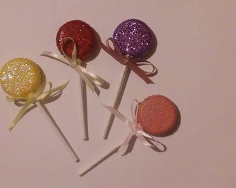 Beer bottle cap Lollipop Magnets