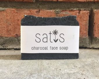 Charcoal Face Bar Soap