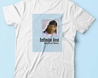 Original Infinite Jest David Foster Wallace T Shirt