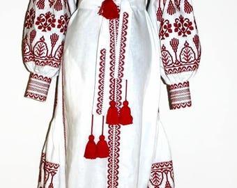Vyshyvanka Dress Embroidered Dresses Vishivanka Bohemian Clothes Boho Clothing Custom Caftan Kaftan Dubai Abaya Long sleeve Boho Chic