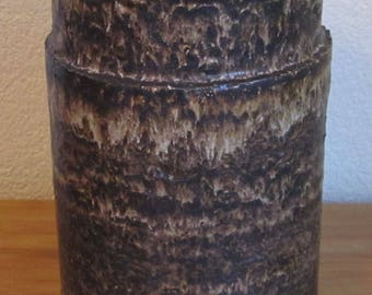 XL Dutch Earthenware Ceramic vase-Lore Beesel 1960