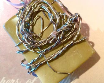 Wire wrapped Lemon Jade Gemstone