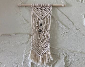 For the Heart Macrame Wall Hanging