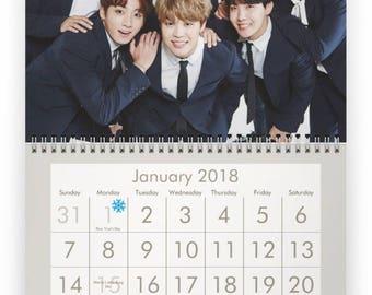 BTS 2018 Calendar