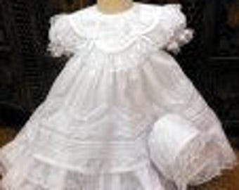 Heirloom baby dress ~free shipping