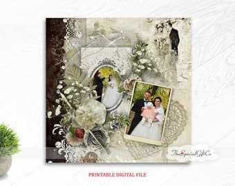 Custom couple portrait/personalized couple portrait/custom portrait of couple/wedding gift/custom wedding gift/PRINTABLE/DIGITAL FILE