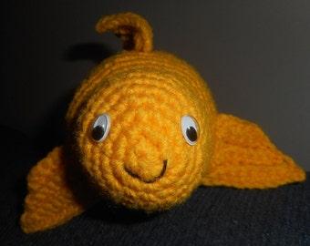 Crochet Fantail Goldfish