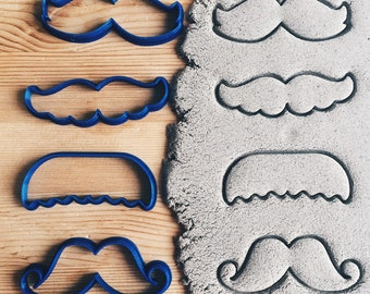 Moustache Set Cookie Cutter