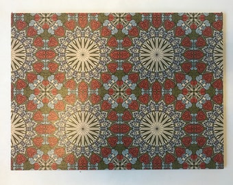 Wood Placemats with Digital LAMOU Print: Estera