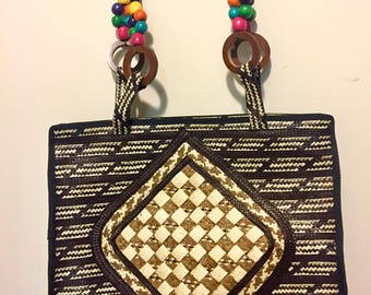 Unique handmade caña de flecha bags