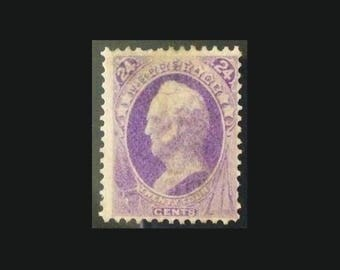 U.S. Postage Stamp 1870 24c General Winfield Scott, Scott #153, Unused Mint