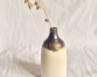 Porcelain bottle vase