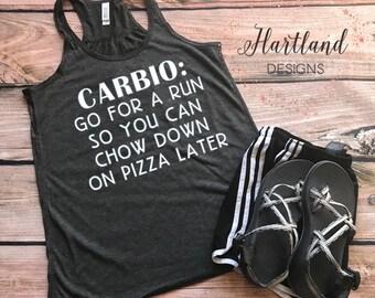 Carbio Workout Tank- Womens Workout Tank- Workout Tank- Womens Tank Top