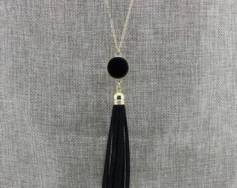 Chain Tassel Necklace