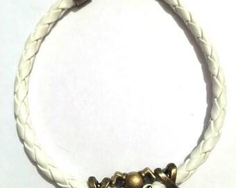 Synthetic leather Bracelet