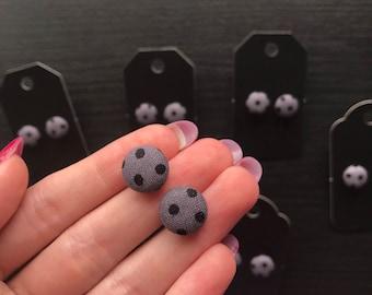 Black Spot Earrings