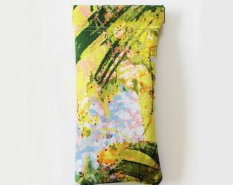 Green Canopy Glasses Case
