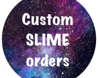 4 oz Custom slime