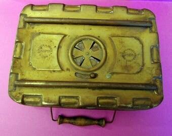 Embers in brass - GIRODON & MONTET heater