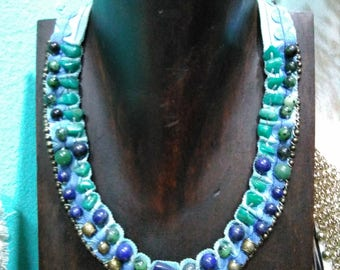 Necklace with Gemstones