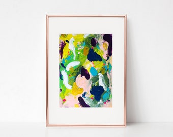 Green Abstract painting, wall decor, home decor, wall art, Original acrylic painting, abstract art, original painting, wall art, Painting