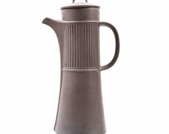 "Dansk Designs Brown ""Flamestone"" Coffee Carafe"
