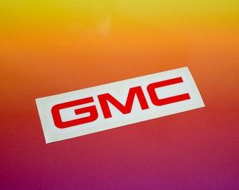 GMC Vinyl Sticker