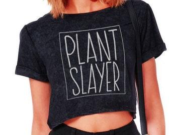 Plant Slayer Crop Top