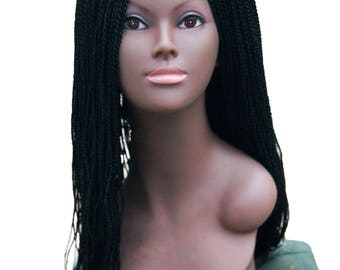 Braided Lacefront Wig,Lacefront wig, Lace wig,Braided wig,Lacefront wigs, Box Braid Lacefront wig, Wigs,Micro Braid Wig