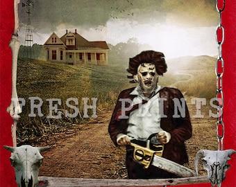 The Texas Chainsaw Massacre Poster print