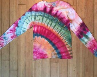 Granite Slice - Ice Tie Dye Longsleeve Shirt (S)