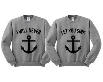 matching sweatshirts, friendship, his and hers or sisters