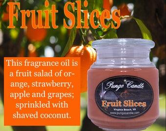 Fruit Slices Scented Jar Candle (16 oz.)!