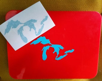 Great Lakes Vinyl Decal Sticker