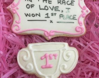 Valentines Cookiegram Set 9 Love Race