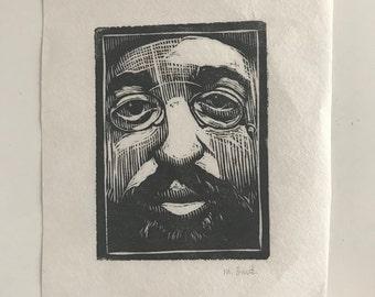 HTL Woodblock Print