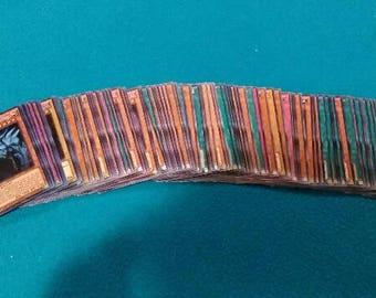 100 Yu-Gi-Oh Card Lot With Guaranteed 15 Rarity Cards