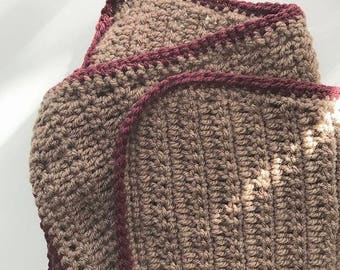 Crochet baby blanket (customized)