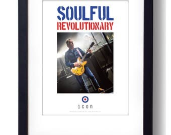 Paul Weller: Soulful Revolutionary A3 Limited Edition Print