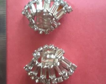 Earrings Clipons Vintage