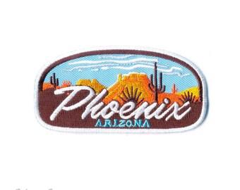 Phoenix Urban Desert : Embroidered Patch