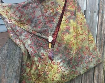 Envelope Style Tote Bag
