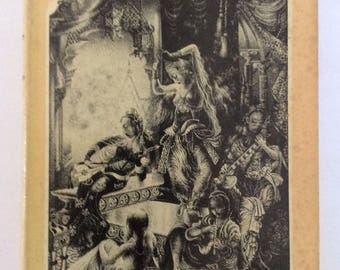 Vintage Siamese Harem Life by Anna H. Leonowens Hardcover Jacket 1953 Reprint Edition