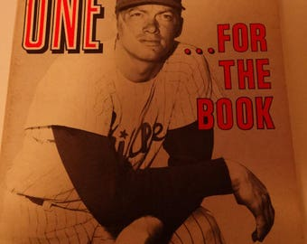 1968 Official All Time Baseball Records Book,ONE For the Book, Pitching Records, Managers & Umps, Batting Records, Club Fielding