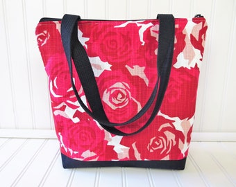 Insulated Lunch Bag - Lunch Tote Insulated - Lunch Bag - Lunch Tote Bag - Floral Lunch Bag