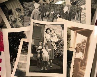 21 Child Snapshots - 1940s to 1960s