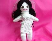 DAMMIT DANGIT or DADGUMMIT Wedding Stress Bride Doll