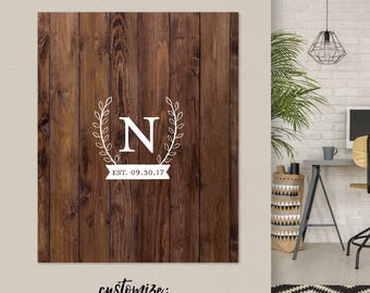 Rustic Wedding Guestbook, Wooden Faux Guestbook, Rustic Wedding Decor, Rustic Guestbook Alternative, Faux Wood Guestbook/ W-G29-1PS REG1 AA3